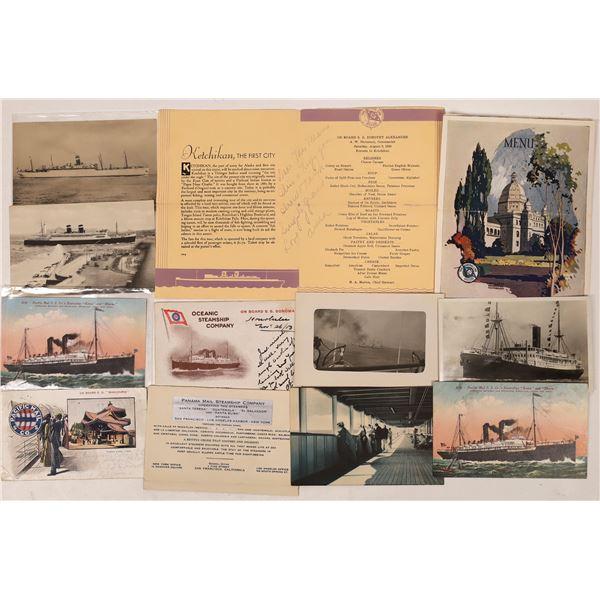 Steamship Company Postcard Collection  [133669]