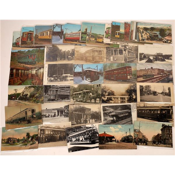 Trolley Car Postcard Collection  [133664]