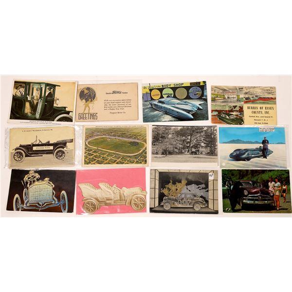 Transportation Related Postcards  [127078]