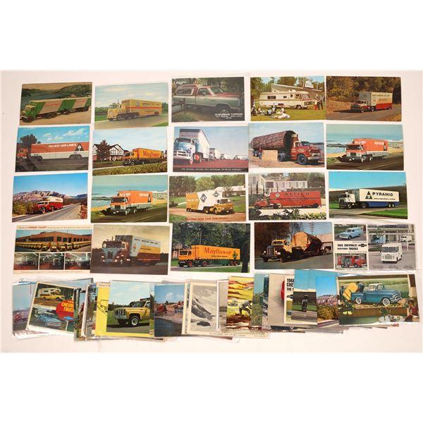 Truck Postcards (50)  [136068]
