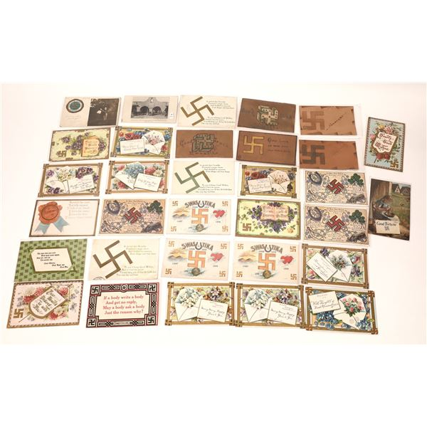 Swastika Postcard Collection  [137948]