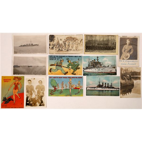 Military Postcards (66)  [127081]