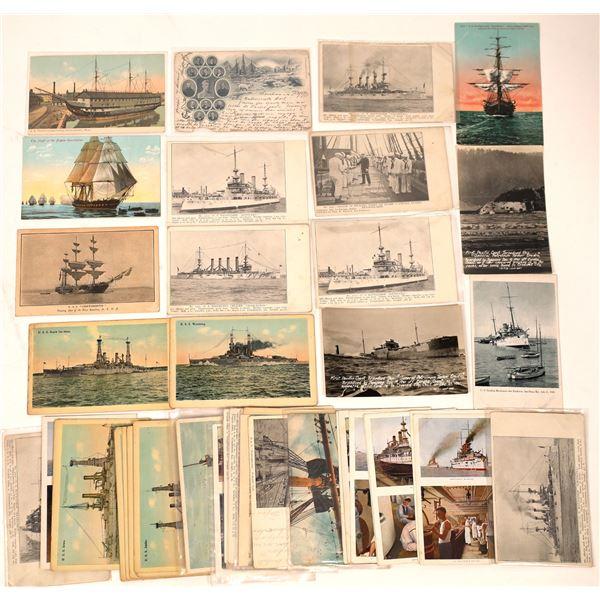 US Navy Postcard Group 1 (44)  [136064]