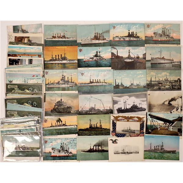 US Navy Postcard Group 3 (90)  [136066]