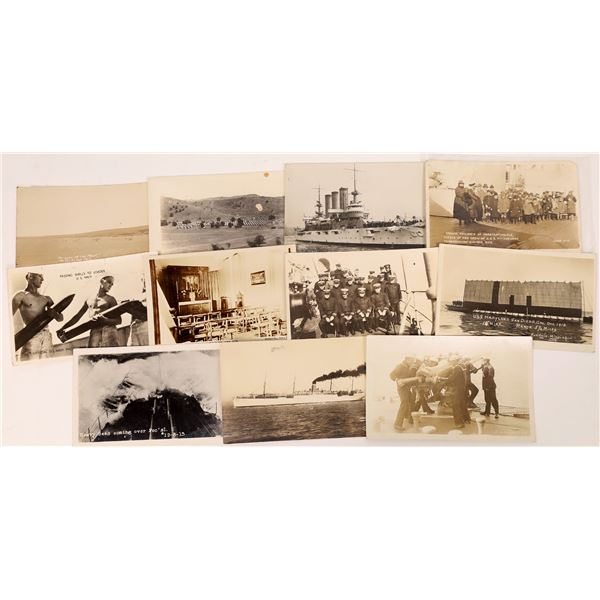 US Navy Postcard Group 7, RPCs - (11)  [136075]