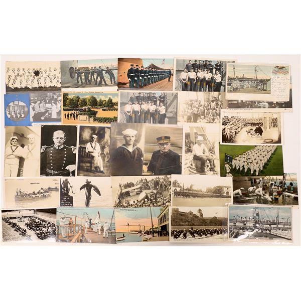 US Navy Postcard Group 10, Sailors (38)  [136078]