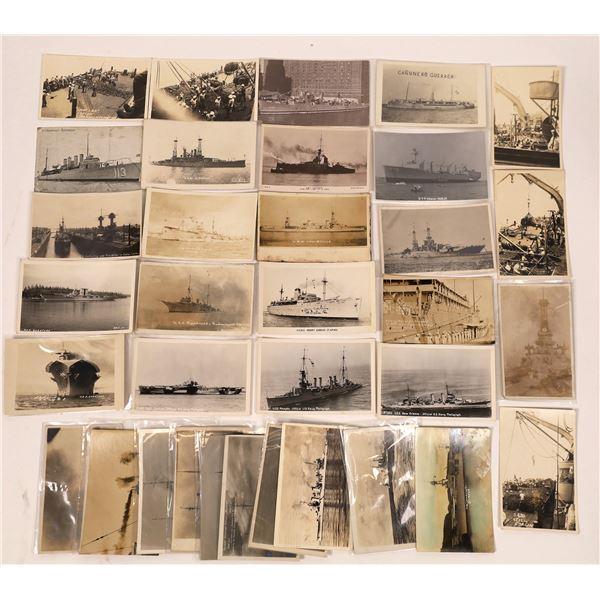 US Navy Postcard Group 13, Torpedo Boats, Destroyer (35)  [136082]