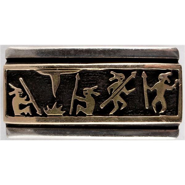 Dancing Figures Pin  [136570]