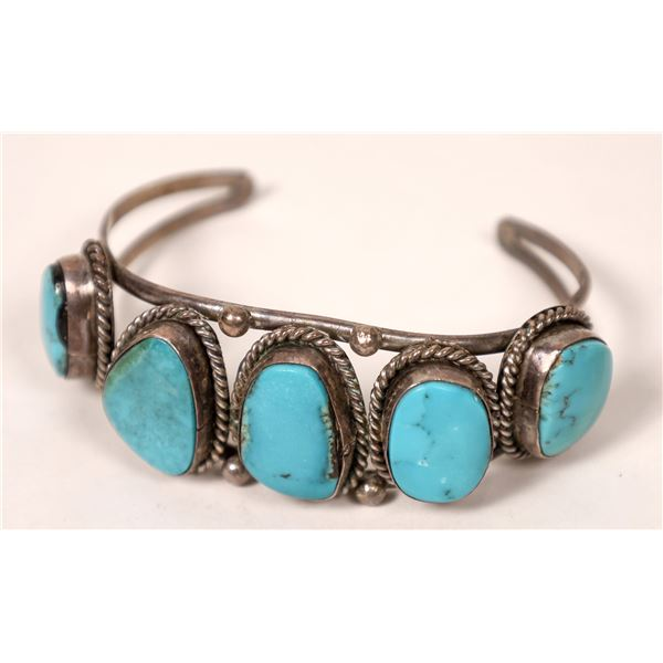 Five Stones Navajo Cuff  [136976]