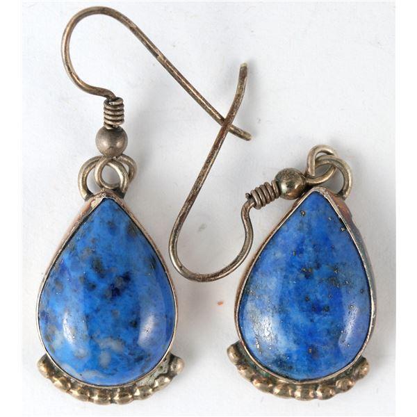 Lapis Sterling Earrings by Jackson  [136931]