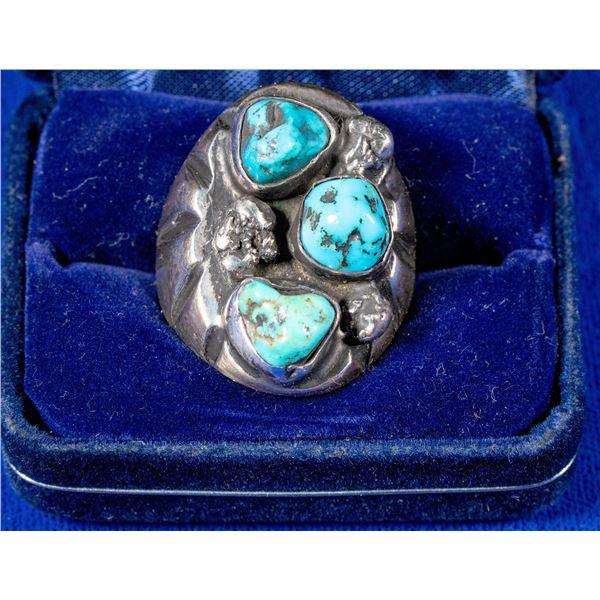 Man's Navajo Ring  [137211]