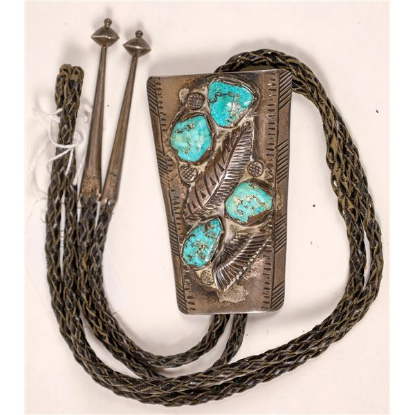 McElroy Silver/Turquoise Bolo  [136938]