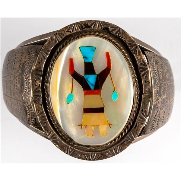 Navajo Apache Mountain Spirit Cuff  [136597]