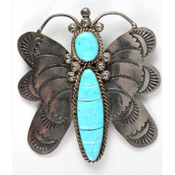 Navajo Butterfly Pin/Pendant  [137131]