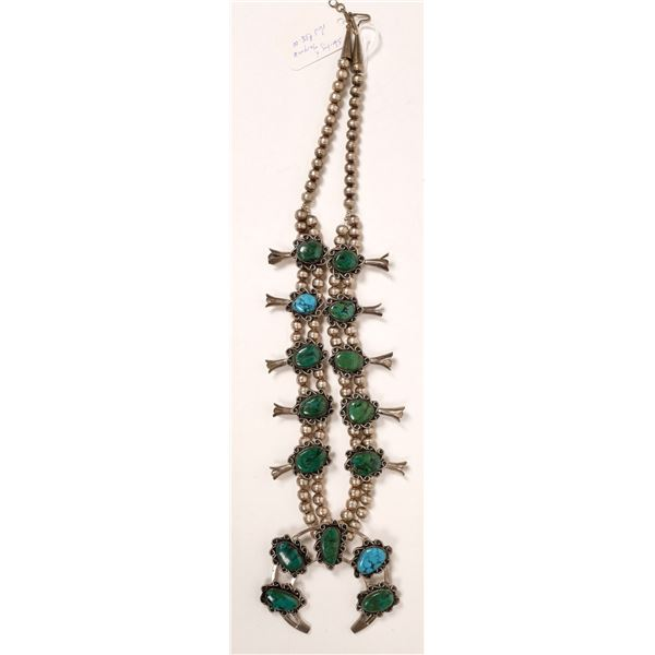 Old Style Squash Blossom Necklace  [136970]