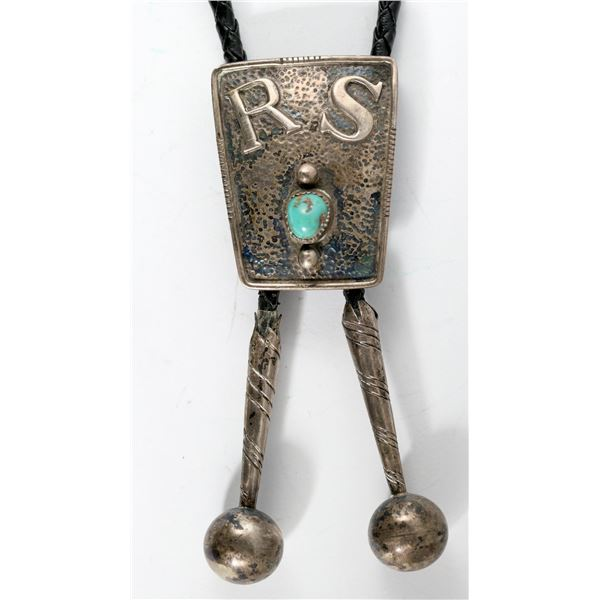 Sterling and Turquoise Bolo  [137177]