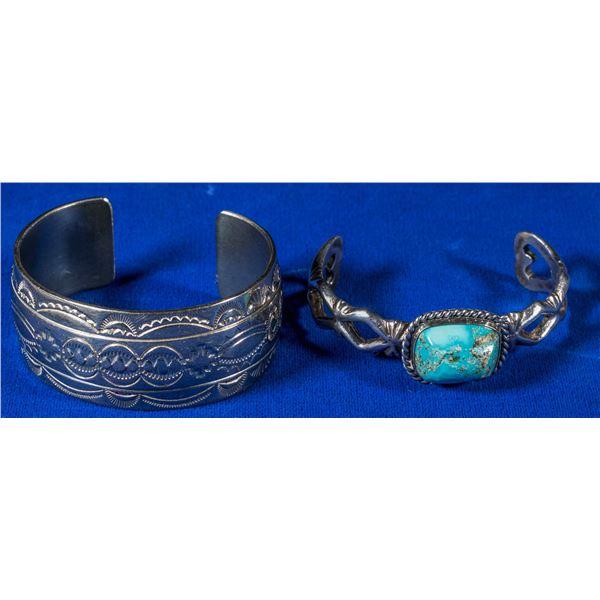 Two Sterling Cuffs  [137235]