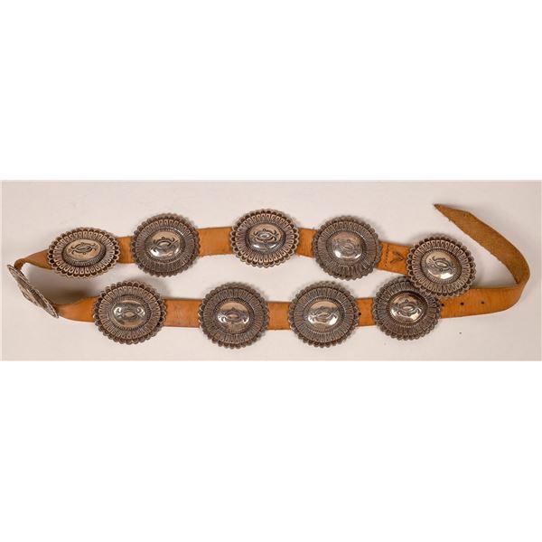 Sterling Silver Concho Belt  [136903]