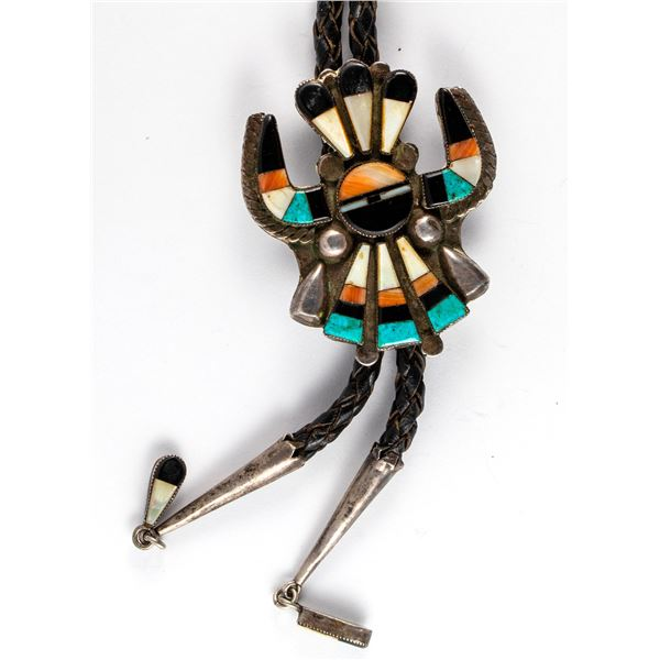 Channel Set Horned Surface Bolo  [136592]