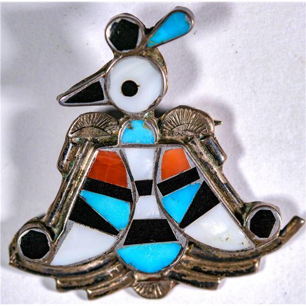 Dan Simplicio Peyote Bird Pin  [136964]