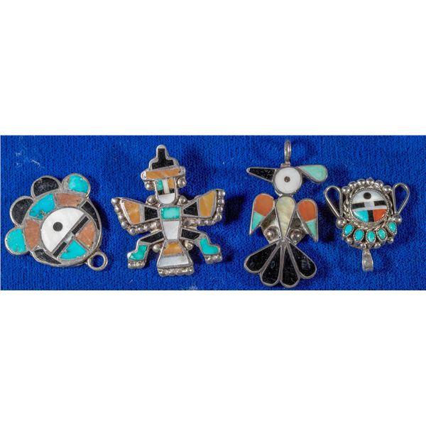 Four Zuni Pieces  [137218]