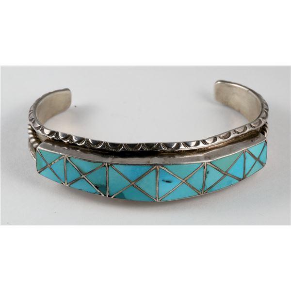 H L Zunie Turquoise Cuff  [137238]