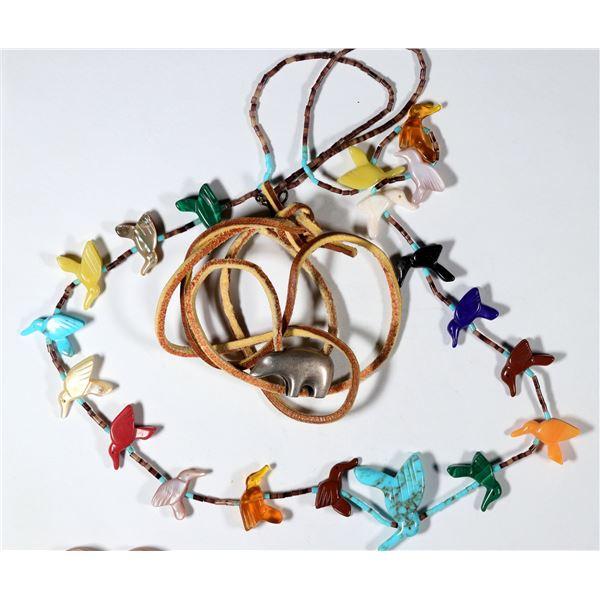 Hummingbird Fetish Necklace  [137273]