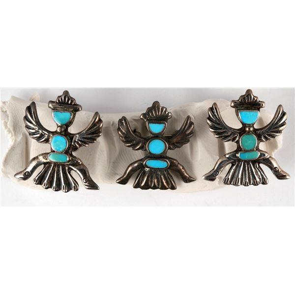 Iule Knifewing Earrings and Pin  [137254]