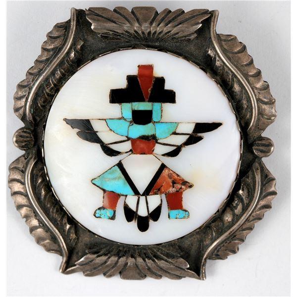 Mosaic Inlay Knifewing Pin/Brooch  [137259]