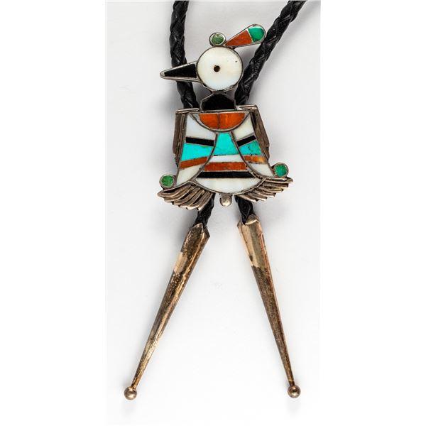Striking Peyote Bird Bolo  [137123]
