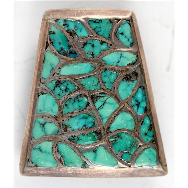 Turquoise Channel Inlay Bolo  [137174]