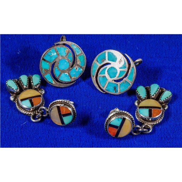 Two Fab Pair Earrings  [137228]