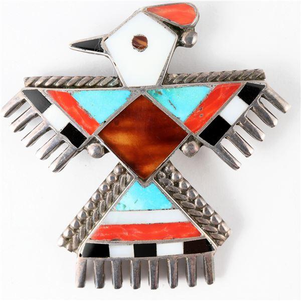 Unusual Hopi Bird Pin  [137267]