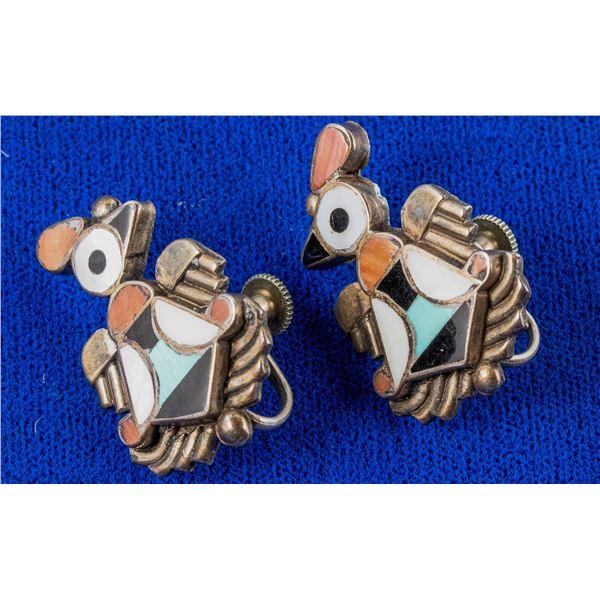 Zuni Bird Earrings  [137225]