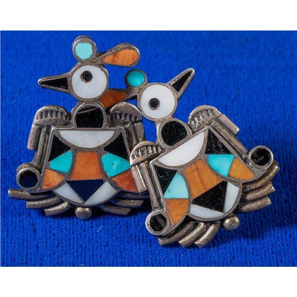 Zuni bird Earrings  [137226]