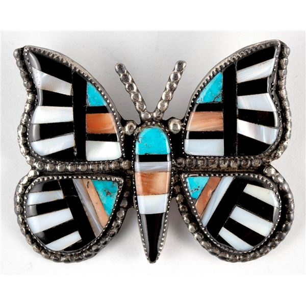 Zuni Butterfly Pin  [136577]