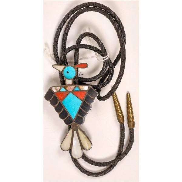 Zuni Peyote Bird Bolo   [136940]