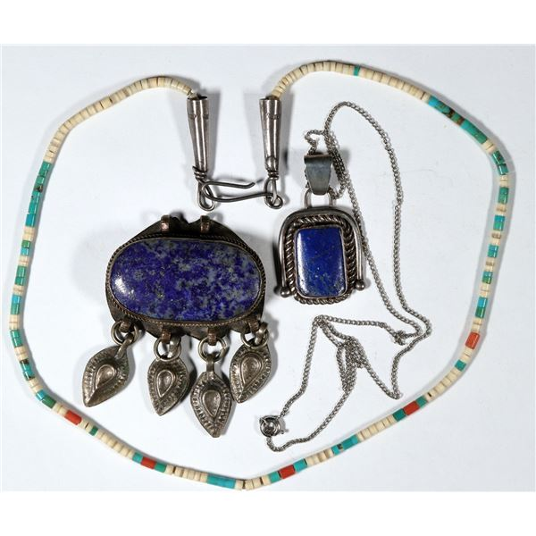 Two Pendants and One Necklace  [137278]