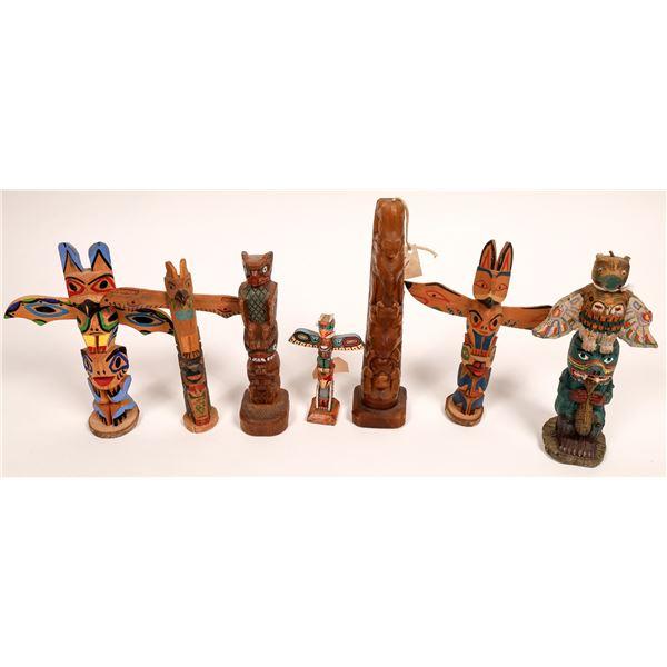 Pacific Northwest Totem Pole Art (7)  [136746]