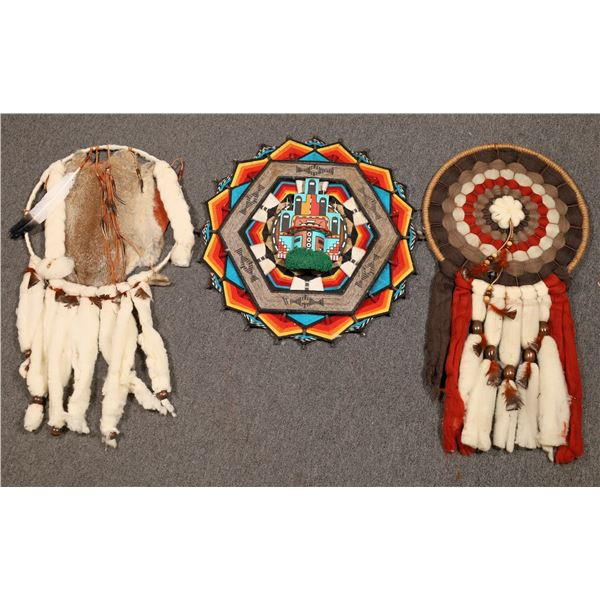 American Indian Style Dreamcatchers (3)  [136877]