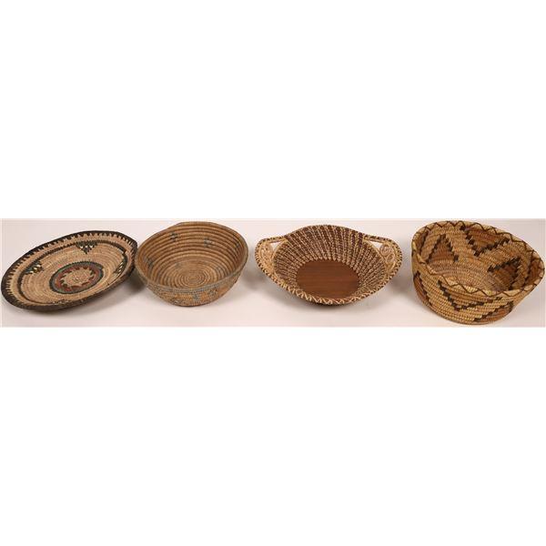 Four Native Baskets  [136990]
