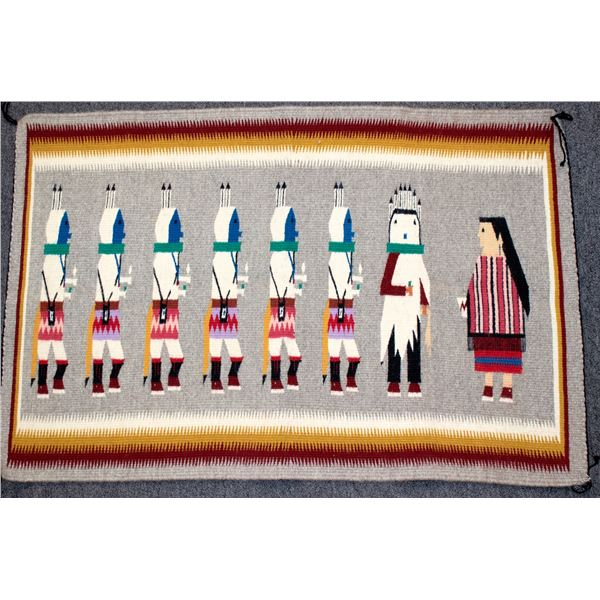 Colorful Yei Weaving  [137436]