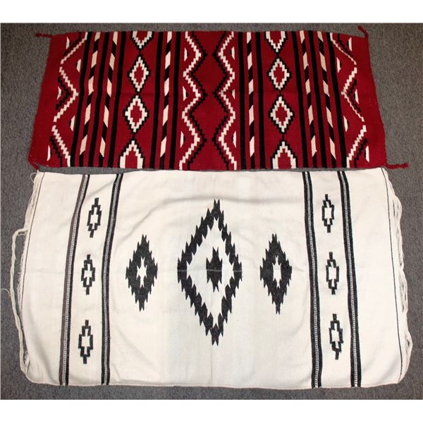 Navajo Style Mexican Wrap Blankets (2)  [136687]
