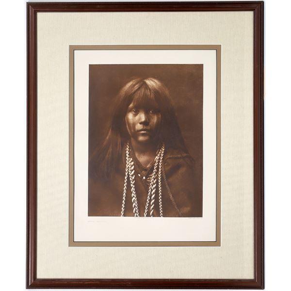 Photogravure of E. S. Curtis Portrait, Mosa Mojave  [133773]