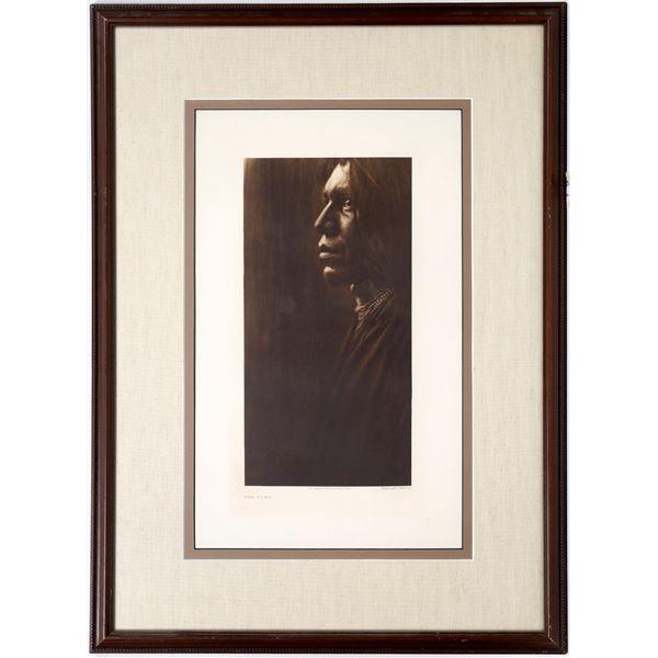Photogravure of E. S. Curtis Portrait, The Yuma  [133774]