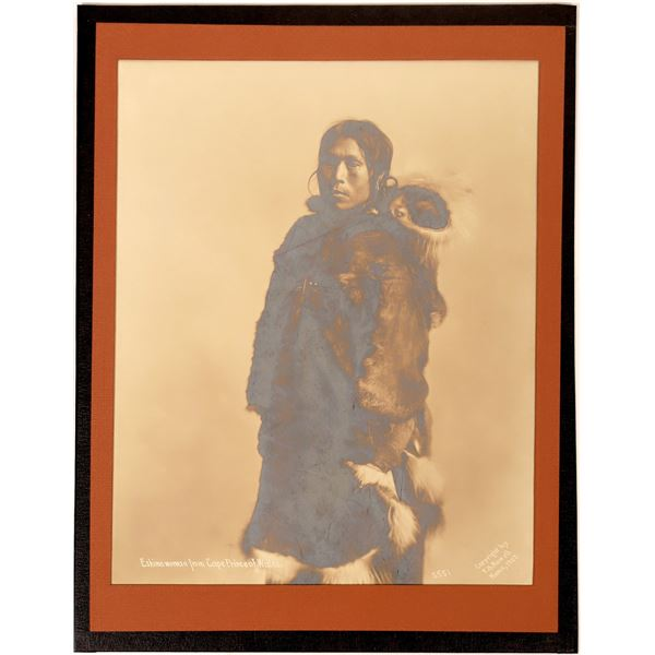 Albumen Print of Eskimo Woman by FH Nowell  [134217]