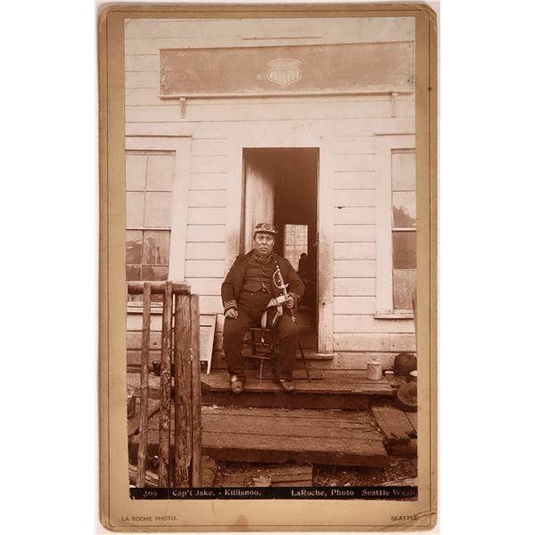 Captain Jake (Tlingit Chief), Killisnoo, Alaska Boudoir Photograph  [135830]