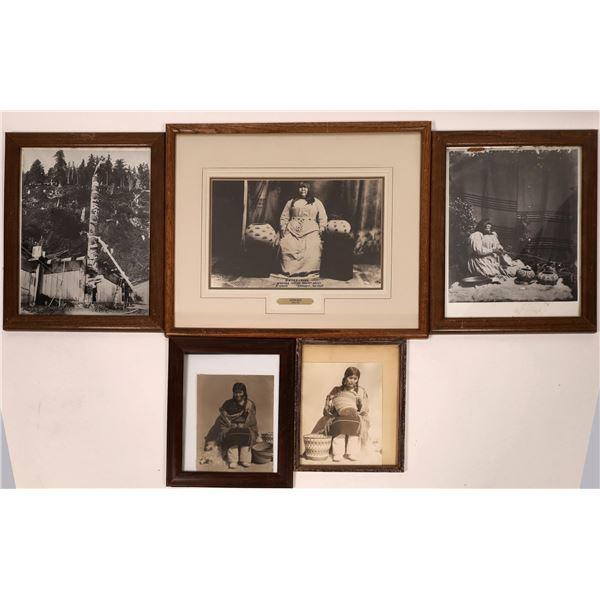 Framed Native American Photographs (5)  [135044]