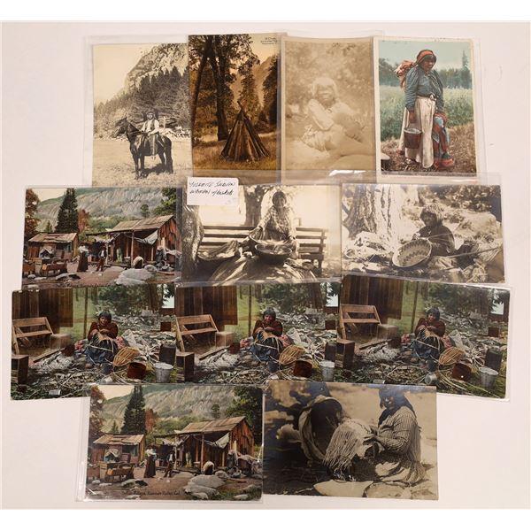 Yosemite Native American Postcard Collection  [132554]