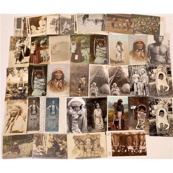 California Native American Postcard Group  [137581]
